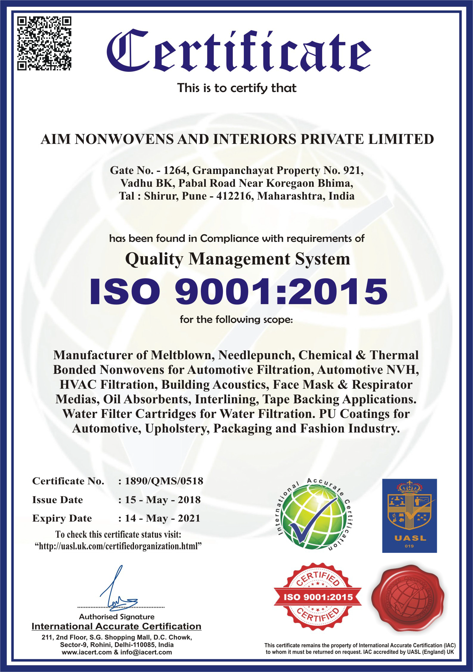 ISO9001-2015-Certificate